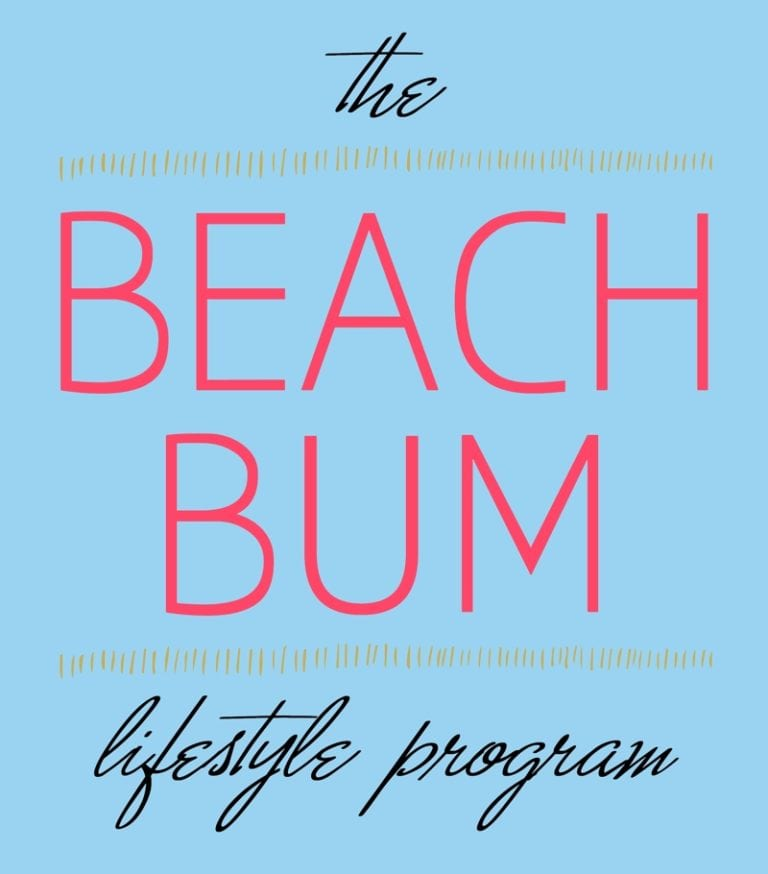 Beach Bum Health and Beauty Program